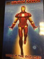 IRON MAN War of the Iron Men - Marvel Comics - Trade Hard Cover TPB (new)