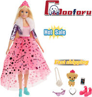 🌟Barbie Princess🌟Adventure Doll in Princess Fashion with Pet Puppy🌟🌟