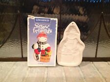 """Vintage Longaberger Snow Friends """"Chilly"""" Cookie Mold"""