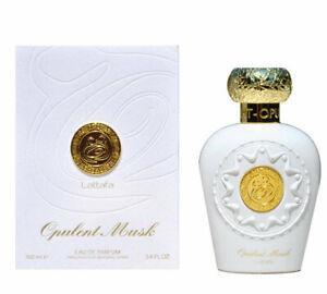 Opulent Musk by Lattafa 100 ml Spray Perfume Fragrance Sweet Musky