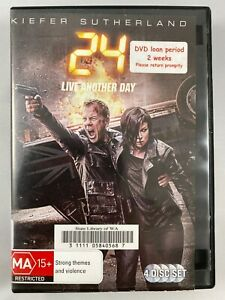 KIEFER SUTHERLAND 24 LIVE ANOTHER DAY 4 DISC DVD SET