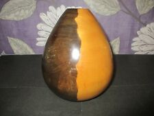 Vintage Turned Wooden Vase -Approx 6.5'' Tall