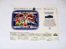Francobolli Repubblica di San Marino - Wolksvagen 1997