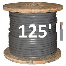 8/2 UF (125') (Underground Feeder) Direct Burial Copper Conductors 3 Wire/Cable