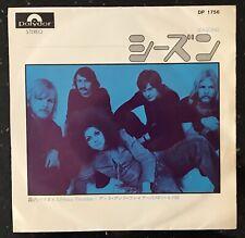"Earth & Fire – Seasons / Hazy Paradise Japan 7"" Vinyl 1969 Polydor – DP 1756"