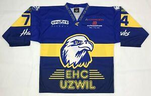 EHC Uzwil Hawks Hockey Jersey Men's Size XL SWITZERLAND TFS by Giovanni Conte