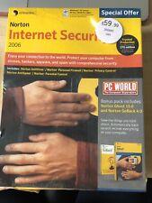 WINDOWS 98 2000 NORTON INTERNET SECURITY 2006 GHOST 10.0 GO BACK 4.0