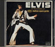 ELVIS PRESLEY Madison Square JAPAN 1st Press 1985 CD 3500Yen RPCD-1009