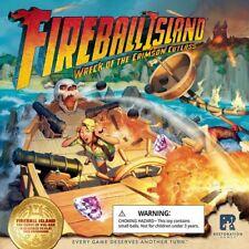 Fireball Island: PRESALE Wreck of the Crimson Cutlas expansion board game restor