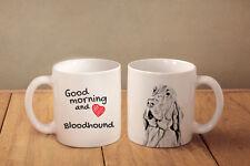 "Bluthund - ein Becher ""Good Morning and love"" Subli Dog, CH"