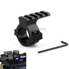 "Barrel Scope 25mm/1"" Ring Mount Adapter 20mm Weaver Picatinny Rail Attachment"