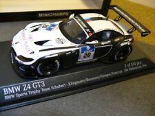 1/43 Minichamps BMW Z4 GT3 Team Schubert # 20 24h Nürburgring 2014