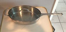 PRINCESS HOUSE 5 QT OVAL SAUTEE PAN POT WITH LID & HANDLE