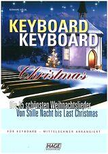 Kölbl - Keyboard Christmas - Weihnachtslieder für Keyboard - mittelschwer