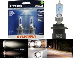 Sylvania Silverstar 9006XS HB4A 55W Two Bulbs Head Light Low Beam Upgrade Lamp