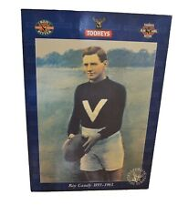 VFL Roy Cazaly Tooheys Beer Promotional Picture Vintage 1995 Super Rare