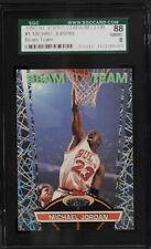 1992 Stadium Club Beam Team Michael Jordan #1 SGC 8 NM-MT