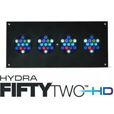 AQUAILLUMINATION AI HYDRA 52 HD+ FIFTY TWO AQUARIUM LED LIGHT - BLACK CASE