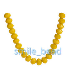 12mm 60Colors Rondelle Faceted Crystal Glass Loose Glass Beads Jewelry Findings