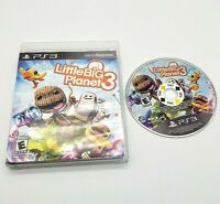 Little Big Planet 3 Three (Sony PlayStation 3, 2014) PS3 Game
