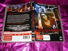 NOVEMBER : (DVD, MA15+) (EX RENTAL)