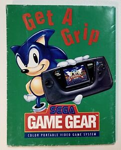 """Vintage Ad Poster SEGA GENESIS Game Gear """"Welcome To The Next Level"""" 1992 Sonic"""