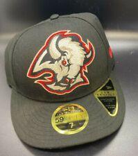 NEW Buffalo Sabres New Era NHL 59FIFTY Hat Cap Size 7 50th anniversary Black