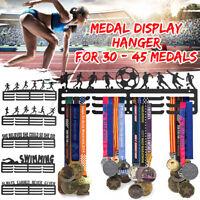 3-Etage Personalised Medaillenhalter Aufhänger Display Geschenk für Laufsport =