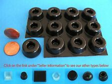 "12 Self Adhesive Rubber Bumper Stop Leg Feet Pad Non Slip .88"" x .40""  USA Made"