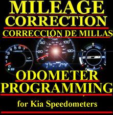 Kia Speedometer Instrument Gauge Cluster Mileage Odometer PROGRAMMING