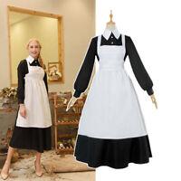 The Promised Neverland Isabella Krone Cosplay Costume Maid Uniform Dress Women