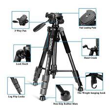 Zomei Q111 Professional Heavy Duty Aluminium Tripod&Pan Head for DSLR Camera e