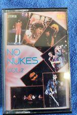 No Nukes Cassette tape Springsteen Jackson Browne Tom Petty RARE!!