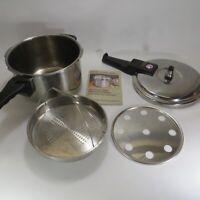 Innova 6 Quart Stainless Steel Pressure Slow Cooker 42001