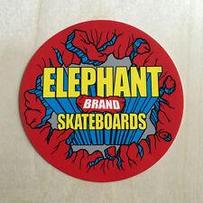 ELEPHANT BRAND SKATEBOARDS Logo Vinyl Aufkleber Mike Vallely Powell 80s New Deal