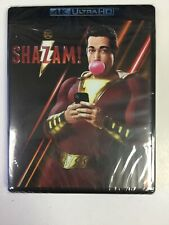 Shazam!, 4K Ultra Hd, Blu-Ray, & Digital, Brand New Sealed!
