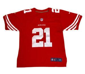 NFL San Francisco 49ers  21 Frank Gore Nike NFL Men Size Small