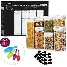 HOMESTO Airtight Food Storage Container Set - Includes Bonus Accessories!