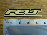 "Felt 4-1//2/"" Print Red//clear Sticker Decal"