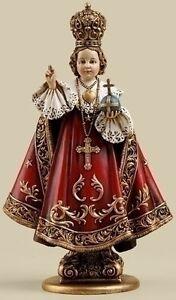"NEW! 10"" Infant Jesus of Prague Statue Child Figurine Catholic Christian 65852"