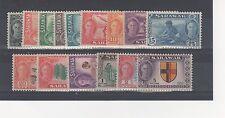 Sarawak 1950 Serie A $5 MH