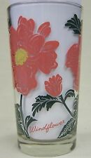 Windflower Peanut Butter Glass Glasses Drinking Kitchen Mauzy 107-3