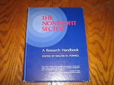 The Nonprofit Sector by Walter W. Powell (1987 First Edition Hardcover)