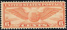 #C19 1934  6 CENT WINGED GLOBE AIRMAIL ISSUE MINT-OG/NH