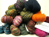 Knitglobal 4 ply/fingering weight sock yarn wool 100g hank