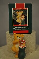 Hallmark Cinnamon Bear 7th in Series - Porcelain Collector Ornament