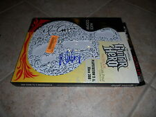 Alice Copper Hand Signed Autographed Guitar Hero Pick Guard  X-Box 360 & PS3