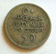 PALESTYNA 50 MILS 1927 FIFTY MIKLS