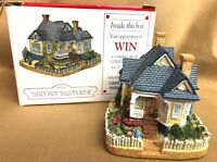 "LIBERTY FALLS AMERICANA COLLECTION ""HANDY ANDY"" MALLOY'S HOUSE #AH128 NIB"