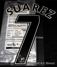 Liverpool Suarez 7 Name/Number Set Football Shirt Lextra 07-13 Sporting ID